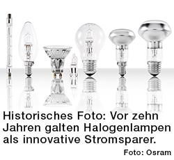 Halogenlampen von Osram