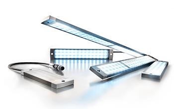 Mit den Längenvarianten von 145-860 mm offeriert Weidmüller ein komplettes Leuchtenprogramm.